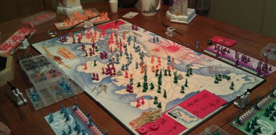 Wicked fun play Ikusa board game with all the plastic goodness
